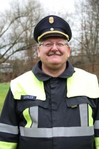 Stadtbrandinspektor Stefan Köhler