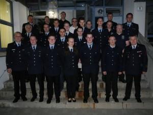 Absolventen des Atemschutzgeräteträger Lehrgangs in Bad Rodach