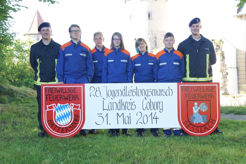 Teilnehmer JLM 2014 A-Teil