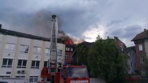 Wohnhausbrand Sonneberg (1)