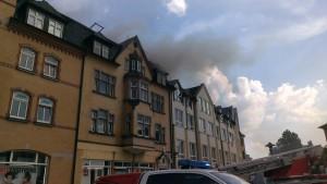 Wohnhausbrand Sonneberg (2)