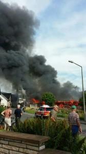 Scheunenbrand Ketschenbach