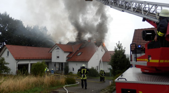 Brand im Knabweg am 27.07.14