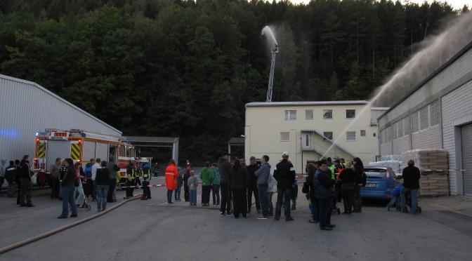Übung in Ebersdorf am 23.09.14