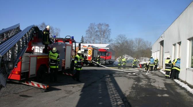 Brand Sonneberger Straße
