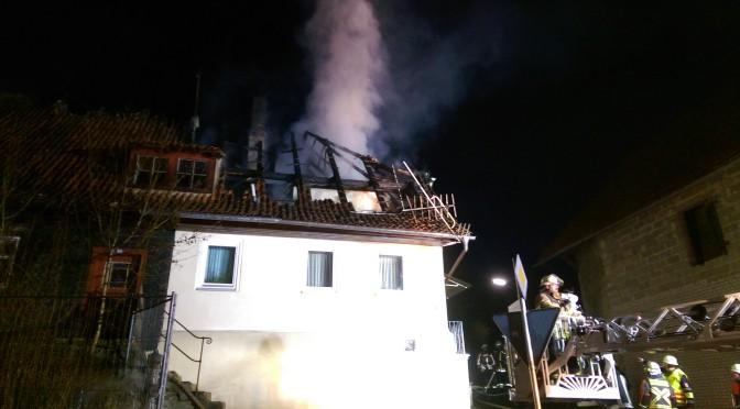 Wohnhausbrand Herreth