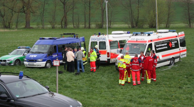 Bombenfund in Sülzfeld am 25.04.15