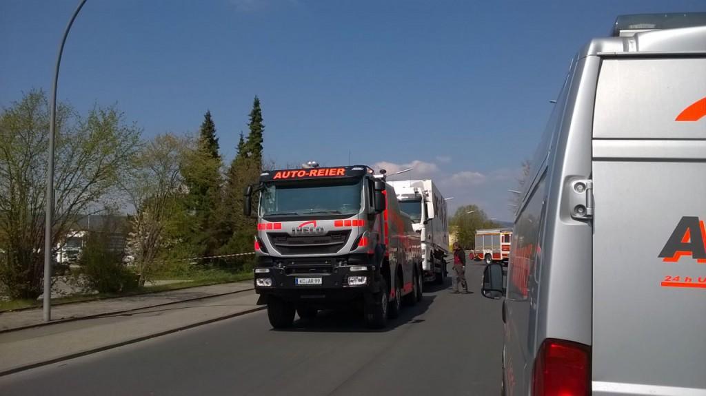 Verkehrsunfall Austraße (2)