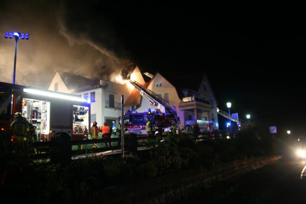 Wohnhausbrand Grub am Forst (2)
