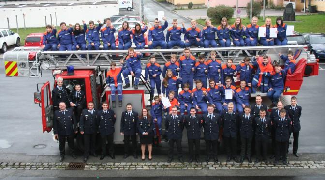 Wissenstest Jugendfeuerwehr  2015 am 17.10.15