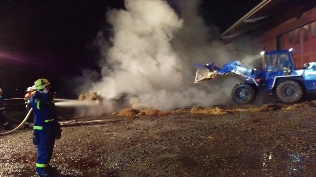 Brand einer Maschinenhalle Herbartsdorf (2)