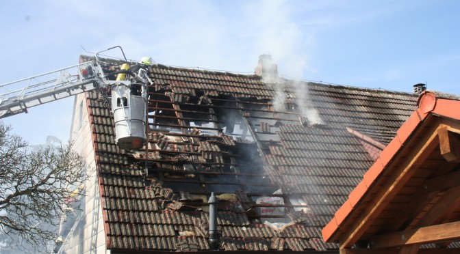Wohnhausbrand Bad Rodach 14.03.16