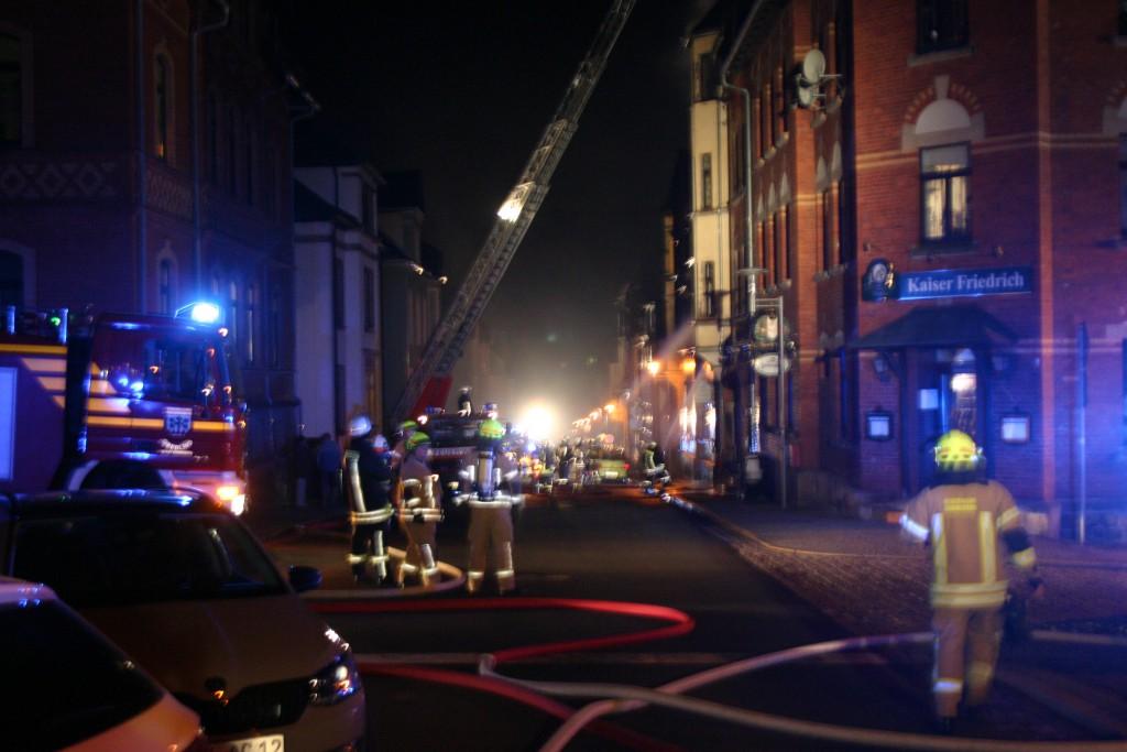 Brand Sonneberg - Rathenaustraße