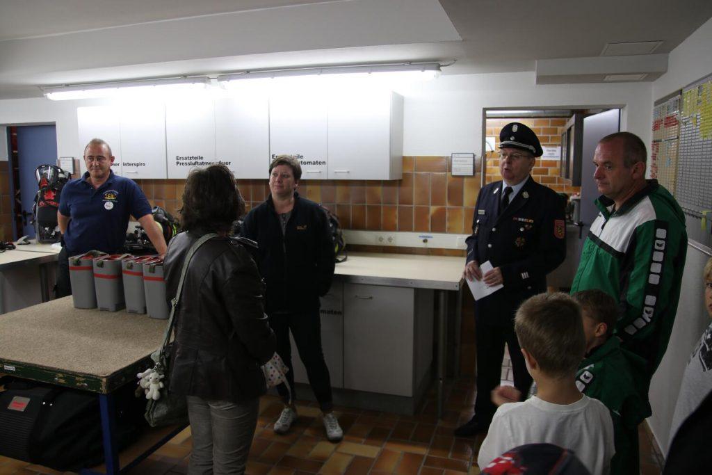 Führungen durch das Feuerwehrgerätehaus