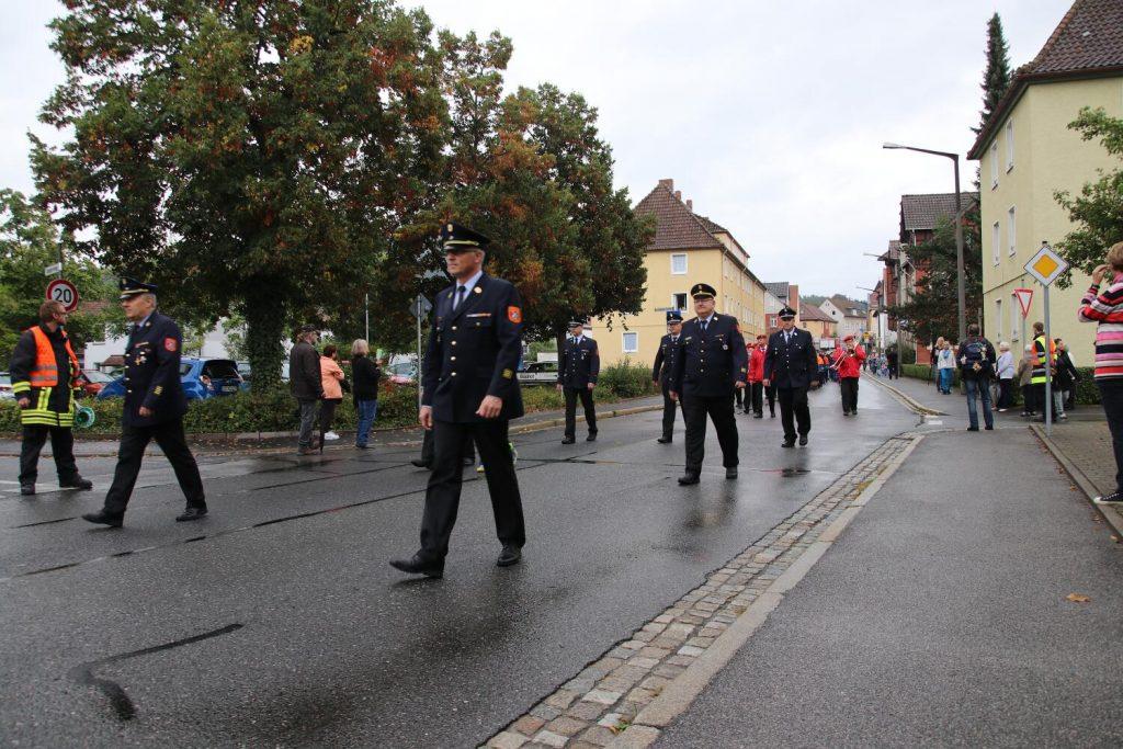Sternmarsch der Jugend- und Frauenfeuerwehren des Landkreises Coburg
