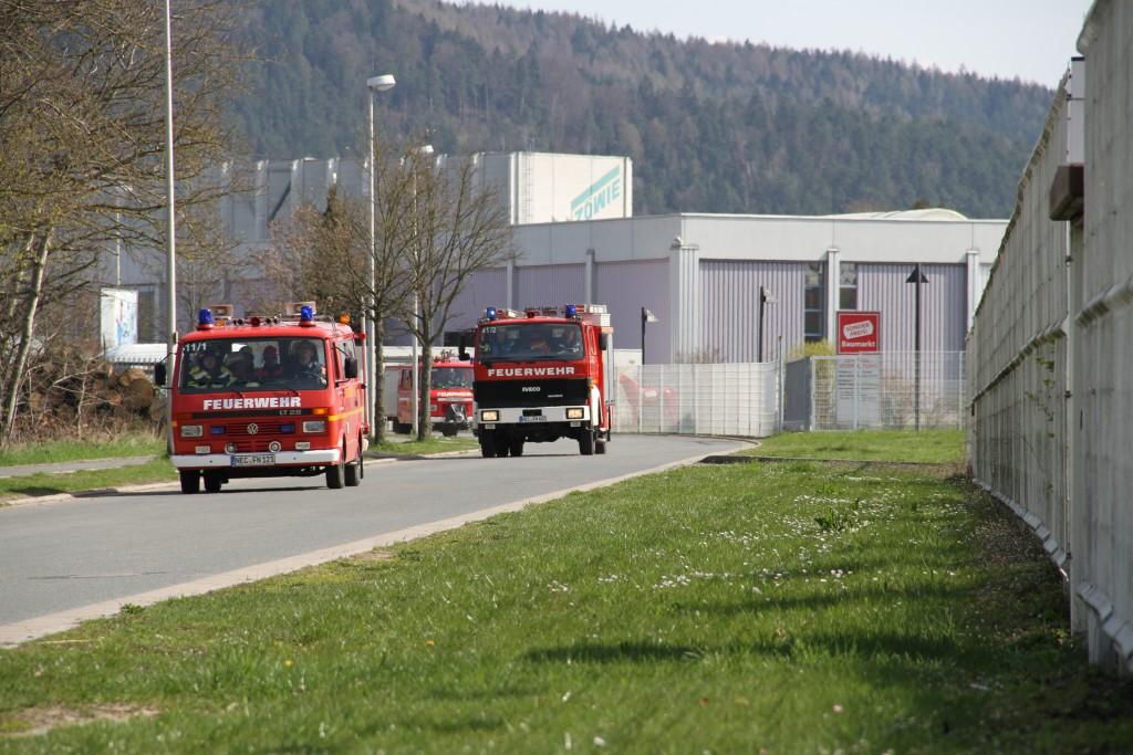 BF Wochenende Alarm über Brandmeldeanlage