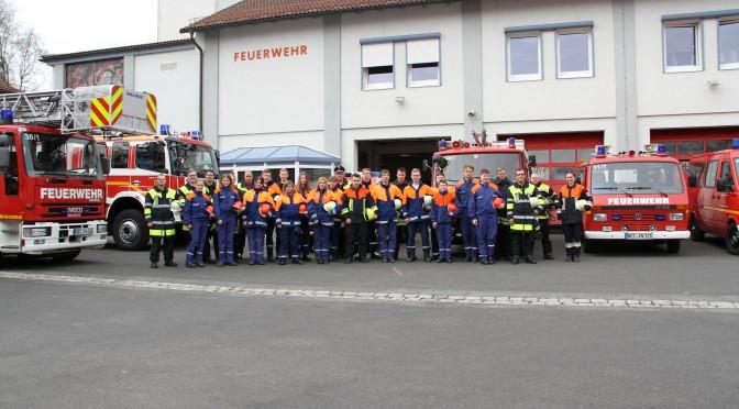 BF-Wochenende der Jugendfeuerwehr am 09/10.04.16