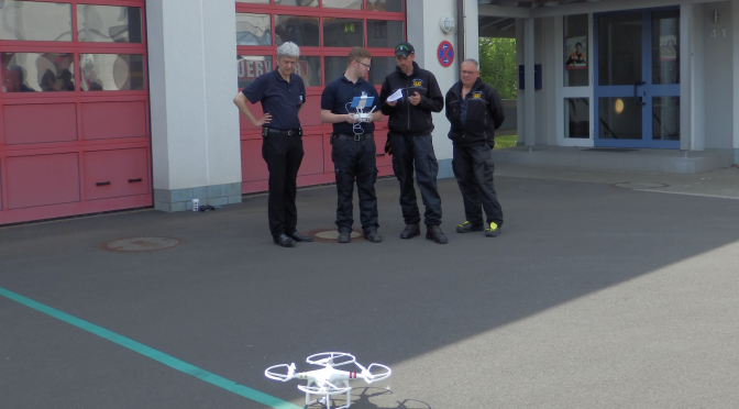 Schulung Drohneneinsatz am 21.05.16
