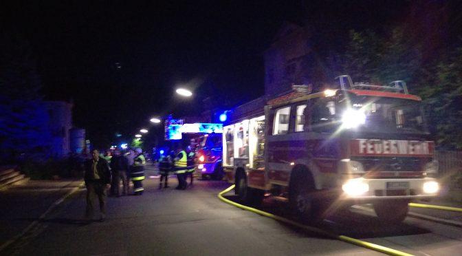 Zimmerbrand am 10.08.2016