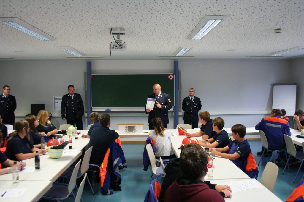 Einleitung durch Kreisjugendwart Oliver Rupp