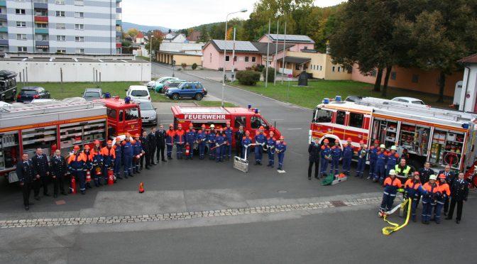 Wissenstest Jugendfeuerwehren am 15.10.16