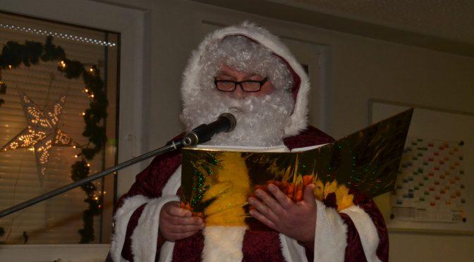 Weihnachtsfeier am 17.12.16