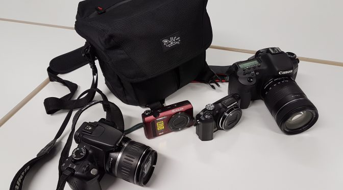 Verschiedene Digitalkameras