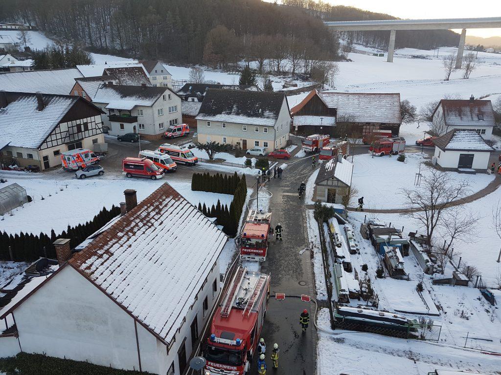 Brand Scheune Roth am Forst (2)