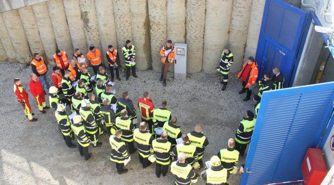 Übungen der Tunnelbasiseinheiten am 10.03.17