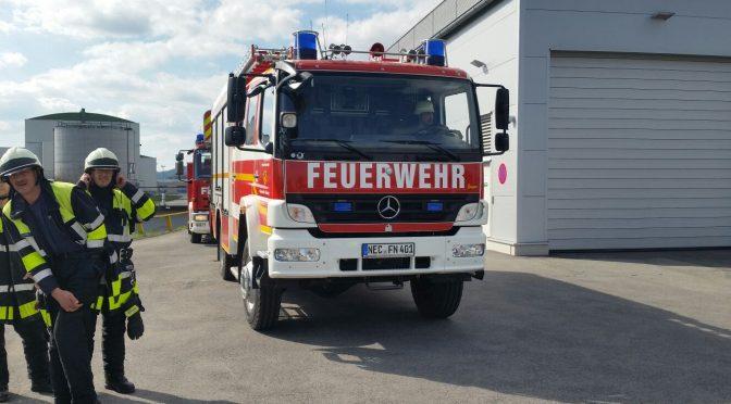 Alarm über Brandmeldeanlage am 30.03.17