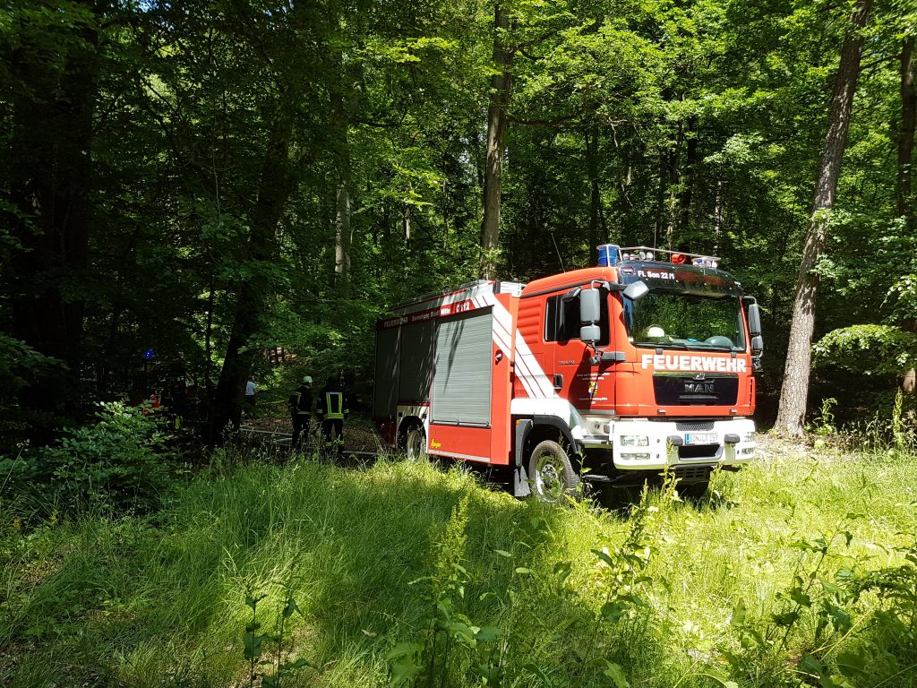 Waldbrand am Muppberg 18.06.17