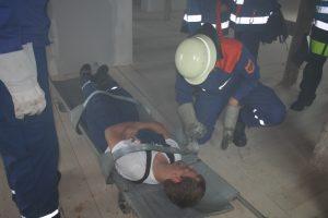 Rettung aus dem Gebäude