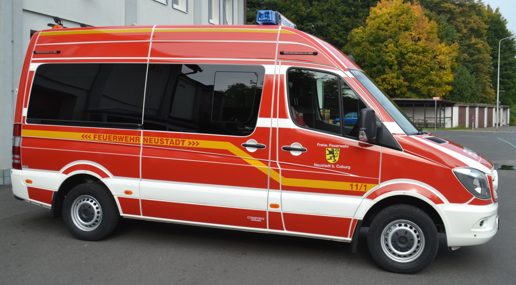 Mehrzweckfahrzeug der FF Neustadt