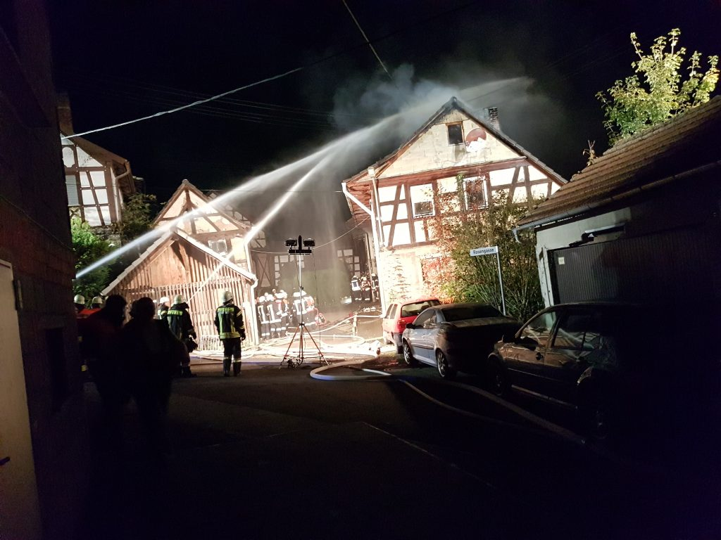 Dachstuhlbrand Autenhausen
