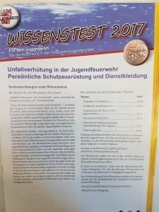Wissenstest 2017