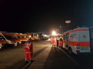 Einsatzkräfte des Rettungsdienstes