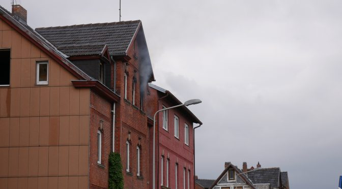 Wohnungsbrand am 22.05.19